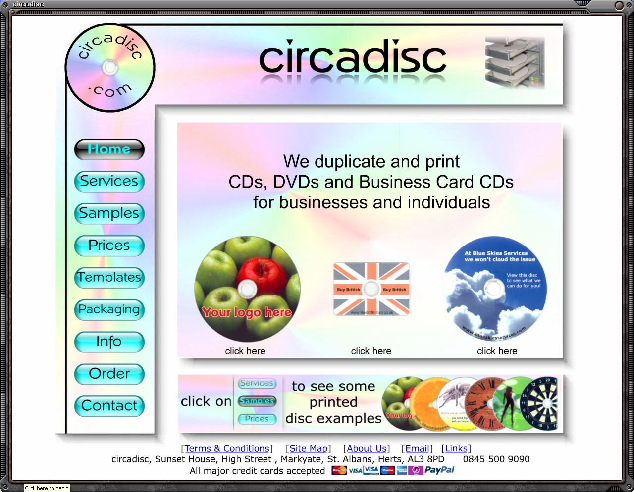 Example CD Presentation